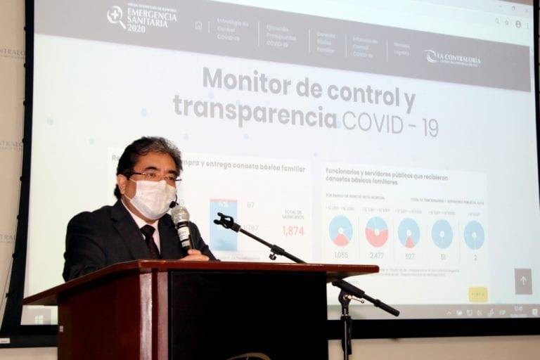 Contraloría detectó a 50 funcionarios de Moquegua beneficiados con canastas de víveres