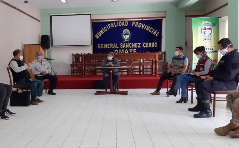 Aprueba solicitar a la PCM declaratoria en emergencia de Omate, Puquina e Ichuña por covid-19