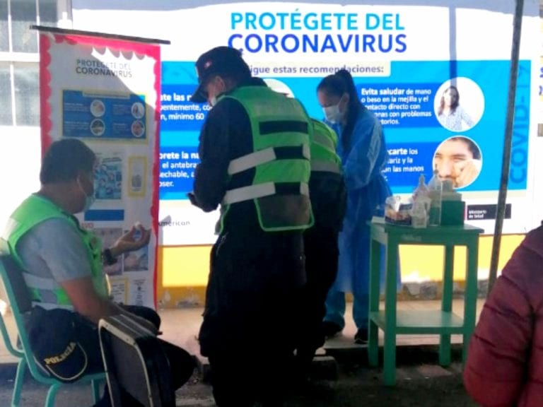 Coronavirus: PNP de Puquina en cuarentena