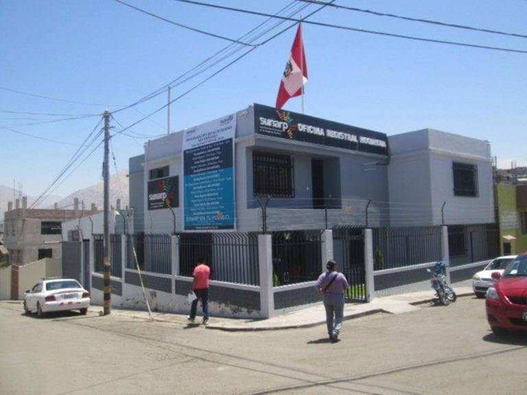 Sunarp reinicia atención presencial a usuarios en las oficinas registrales de Ilo, Puno, Tacna y Moquegua