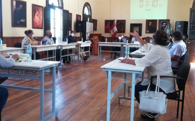 Tía María: Concejo municipal y Southern