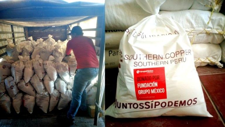 Southern entrega 1900 canastas de víveres a pobladores de comunidades de Candarave