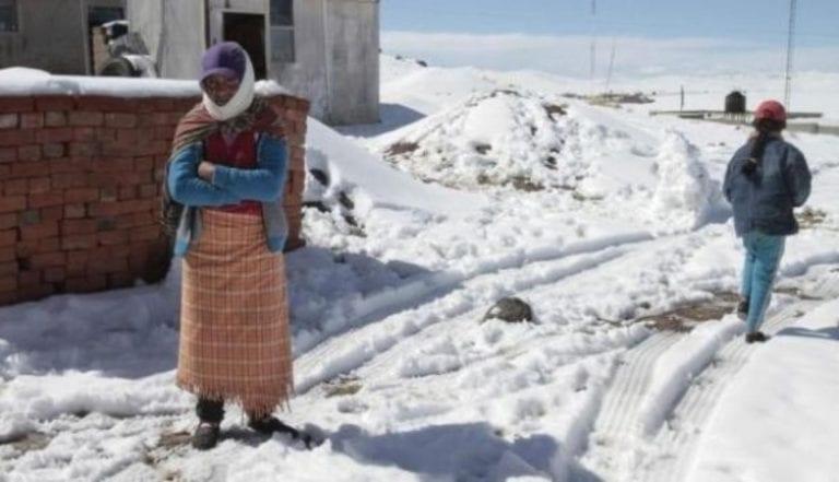 Declaran Estado de Emergencia por peligro inminente ante bajas temperaturas