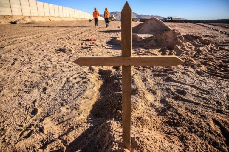 Entra en funcionamiento cementerio Covid en Arequipa