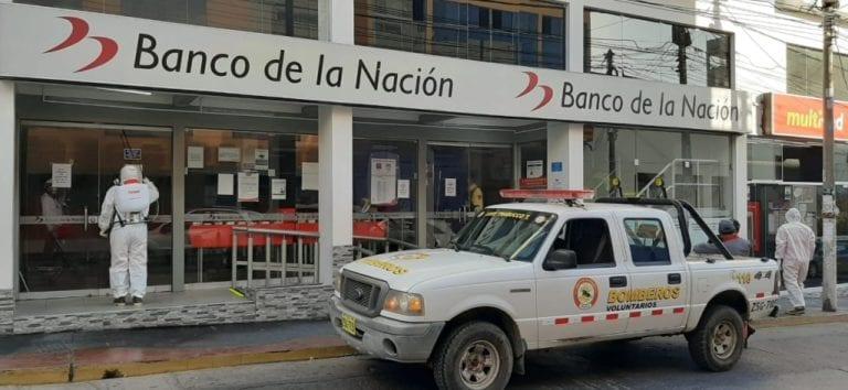Cierran oficinas del Banco de la Nación de Ilo por Covid-19