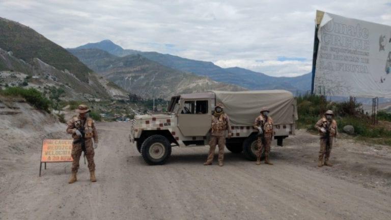 COVID-19 alcanza a integrantes del Ejército Peruano