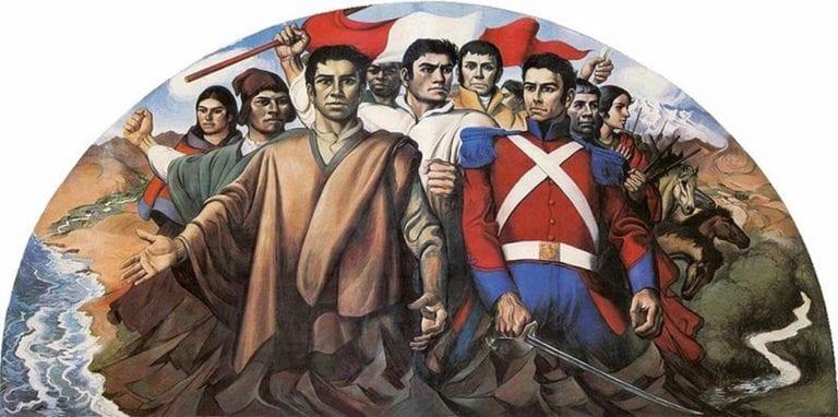 Por la independencia del pueblo del Perú