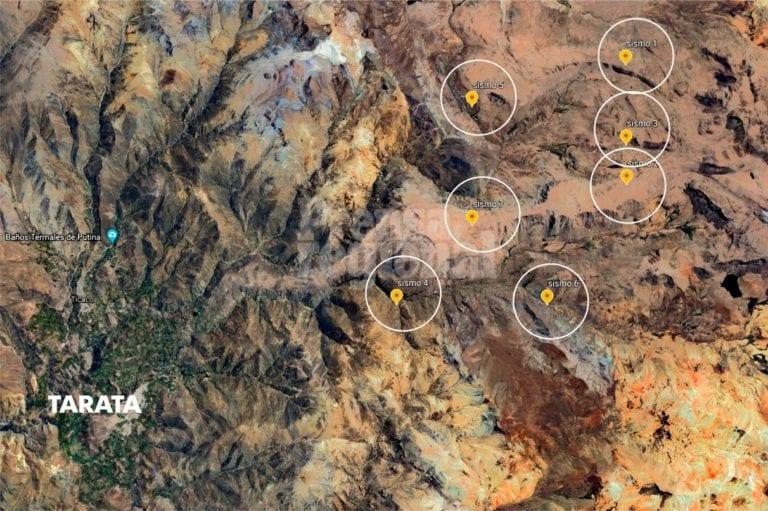 7 sismos en menos 24 horas remecieron Tarata