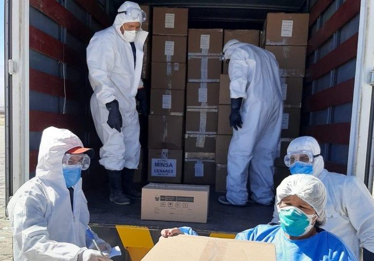 Arequipa recibió más de 41 mil unidades de EPP