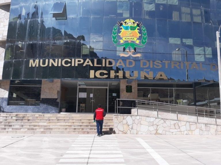 Municipios de Ichuña y Chojata sin plan para prevenir COVID-19 en sus trabajadores