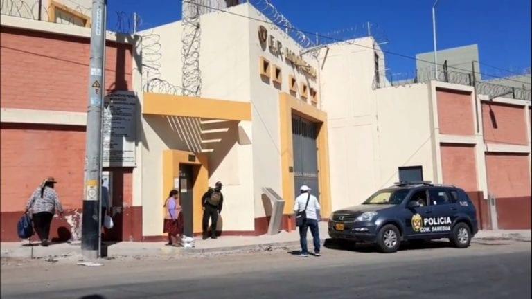 Confirman que 50 internos del penal de Samegua tienen COVID