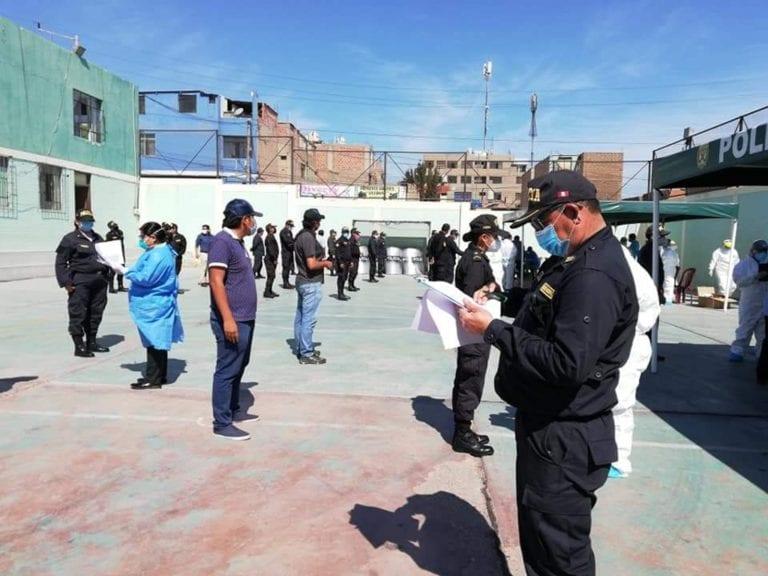 Ilo: reportan 30 casos de policías contagiados de covid-19