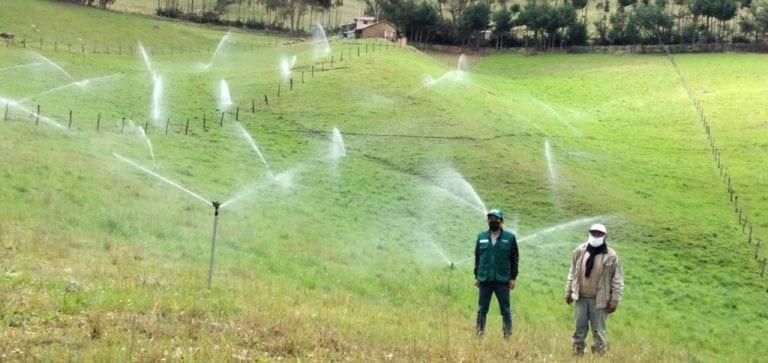 Minagri instalará sistema de riego tecnificado en Arequipa