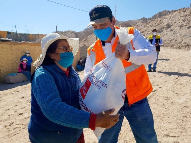 Southern continúa cruzada solidaria en favor de grupos vulnerables en Moquegua