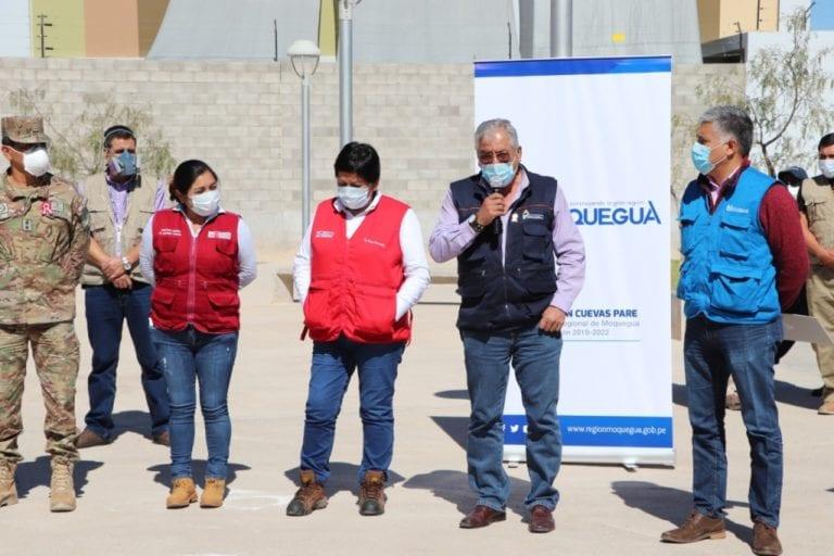 Ejecutivo entregó pruebas rápidas, medicinas y equipos de protección personal