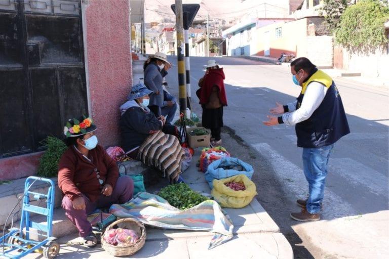 Labores de desinfección del cercado y centros poblados continuará hasta fin de año