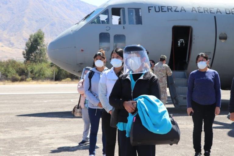 Brigada de 30 profesionales de la salud llegaron a Moquegua