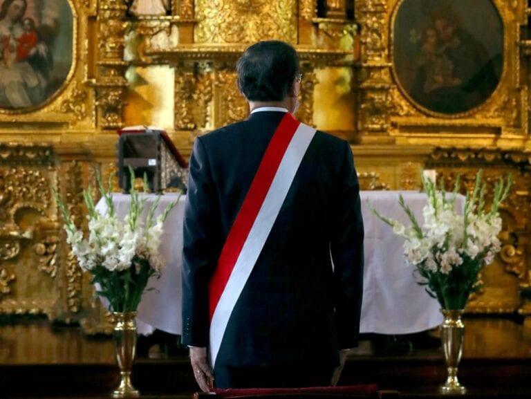 La incapacidad moral del presidente de la República Martín Vizcarra