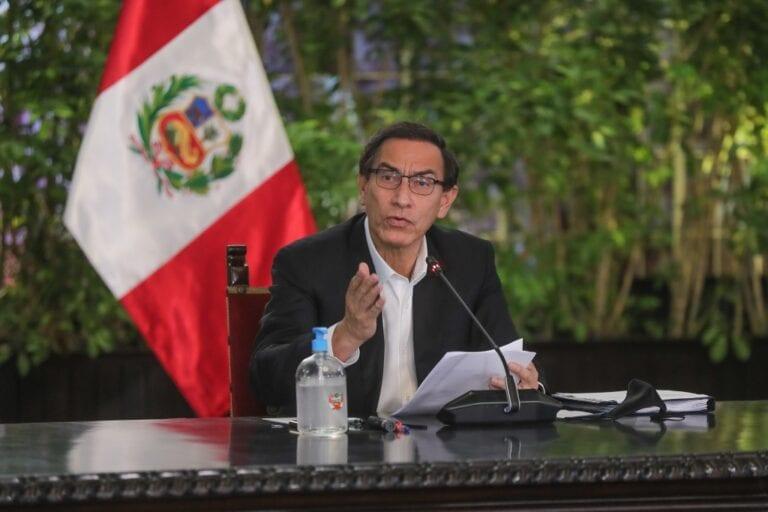 Presidente Vizcarra: Voto de confianza es la expresión de unidad, diálogo y consenso