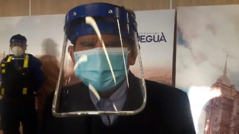 Prof. Zenón Cuevas retoma funciones en el Gobierno Regional